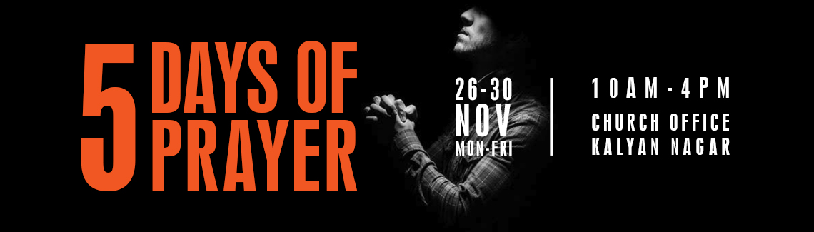 5 Days of Prayer