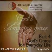 God's Amazing Grace Part-4: God's Grace for Everyday Life